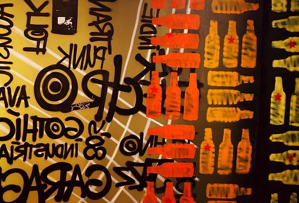 Art Flask Bottles Flasks Bottle Star Beer Cocktail