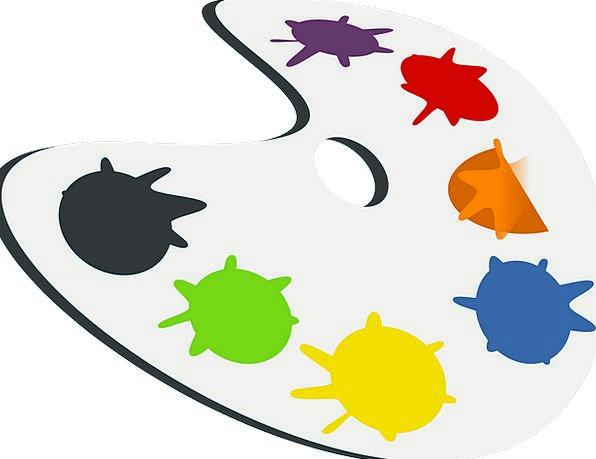 Palette Painting Painter Art Paint Dye Colors Arti