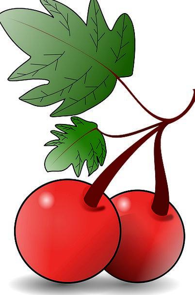 Cherries Drink Ovary Food Red Bloodshot Fruit Tast