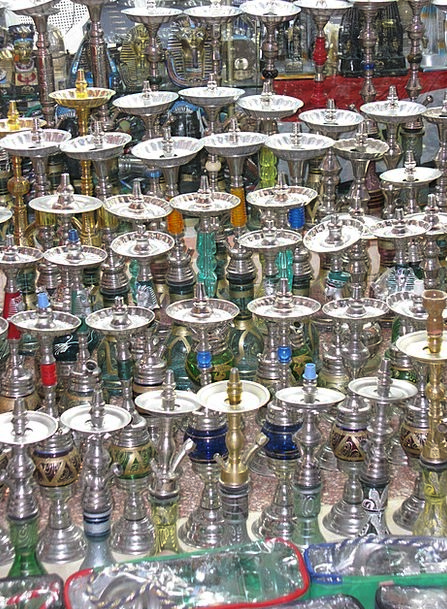 Water Pipes Souvenir Keepsake Mitbringsel Colorful