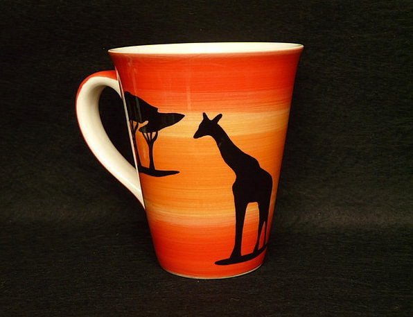 Cup Mug Drink Food Giraffe Coffee Cup Africa Henke