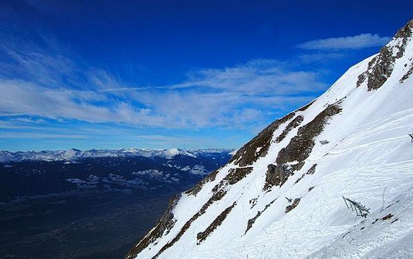 Innsbruck Landscapes Crags Nature Snow Snowflake M