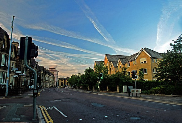 Town Urban Buildings Architecture England Harrogat