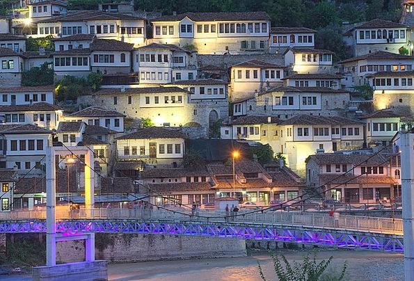 Albania Buildings Architecture Mangalem Berat Old
