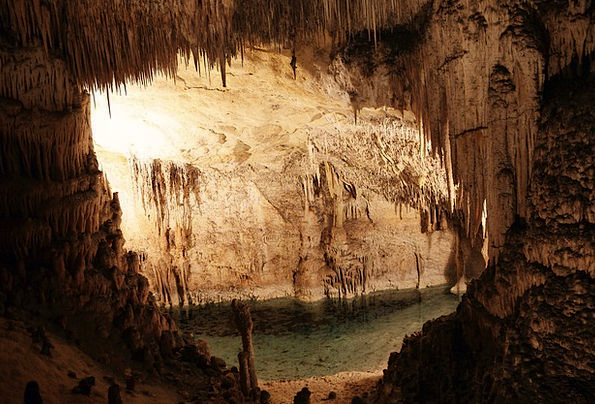 Cave Landscapes Nature Nature Countryside Cavern D