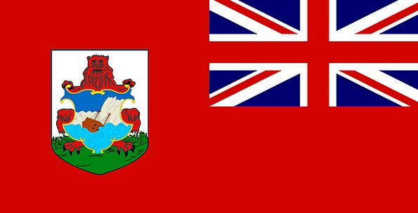 Bermuda Standard Official Authorized Flag Symbol F