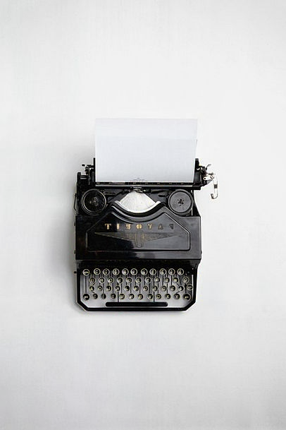 Typewriter Period Vintage Out-of-date Retro Messag