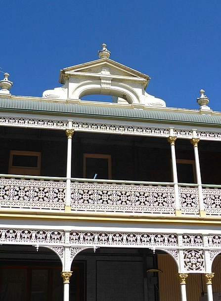 Balustrade Buildings Beautification Architecture M