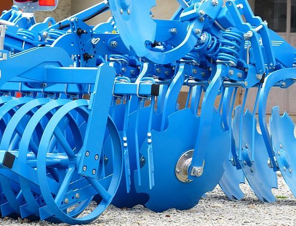 Short Disc Harrow Till Agricultural Machine Harrow