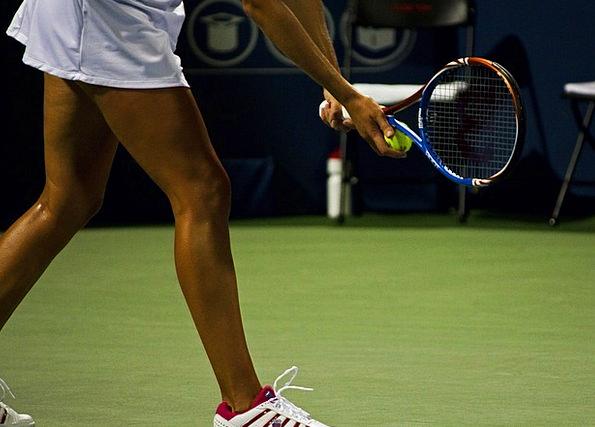 Tennis Sporting Ball Sphere Sports Racket Row Spor