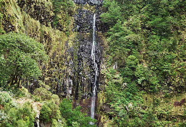 Madeira Landscapes Cascade Nature Highlands Moorla
