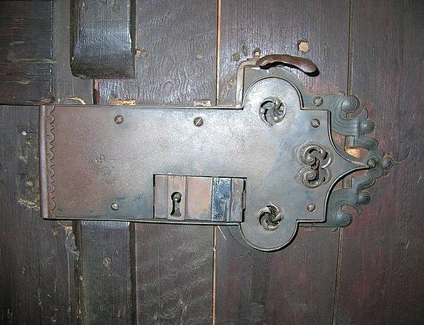 Door Lock Old Metal Castle Antique Key Hole