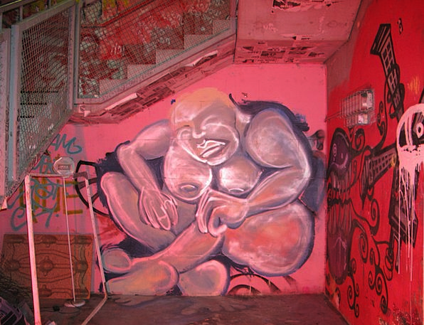 Graffiti Drawings Nightly Berlin Night