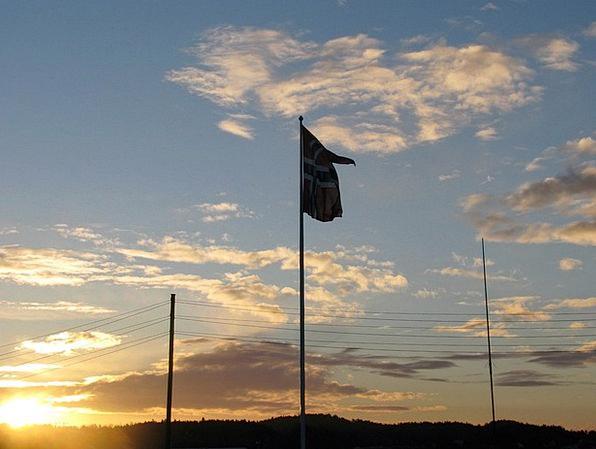 Norway Sky Blue Norwegian Flag Norwegian Norge