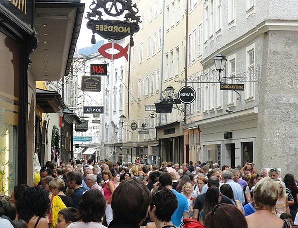 Salzburg Vacation Travel Getreidegasse Austria Tou