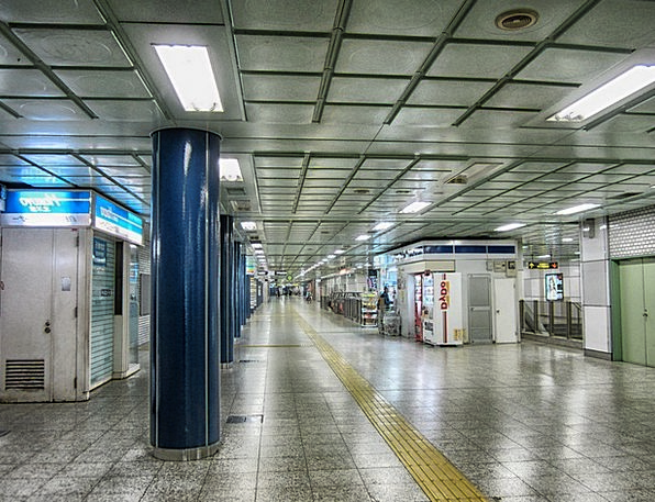 Sapporo Buildings Architecture Subway Underpass Ja