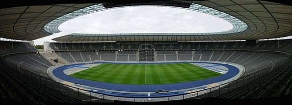 Olympic Stadium Berlin Stadium Fussballstadtion Ar