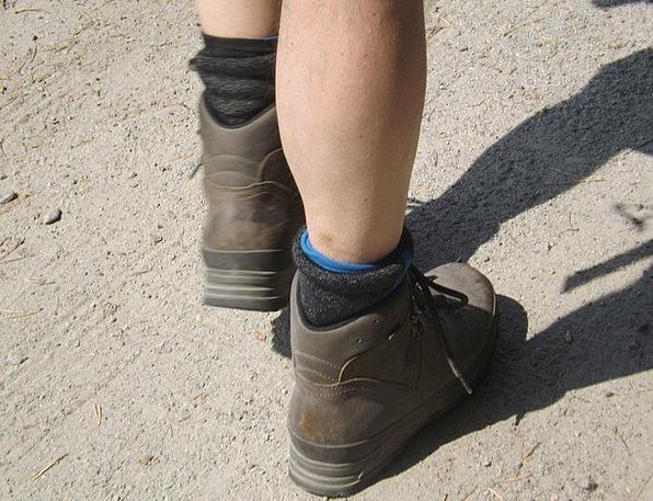 Hiking Mountaineering Trek Boots Gumboots Hike Leg