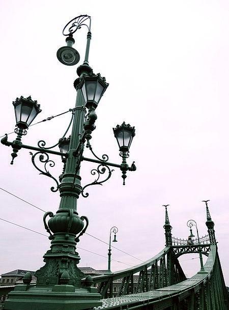 Budapest Buildings Bond Architecture Winter Season