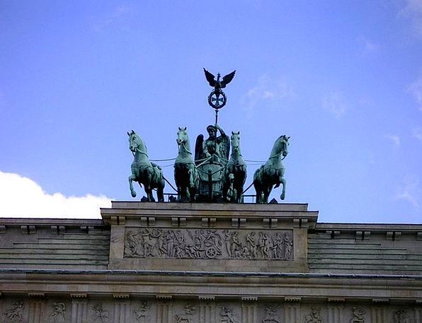Brandenburg Gate Berlin Quadriga