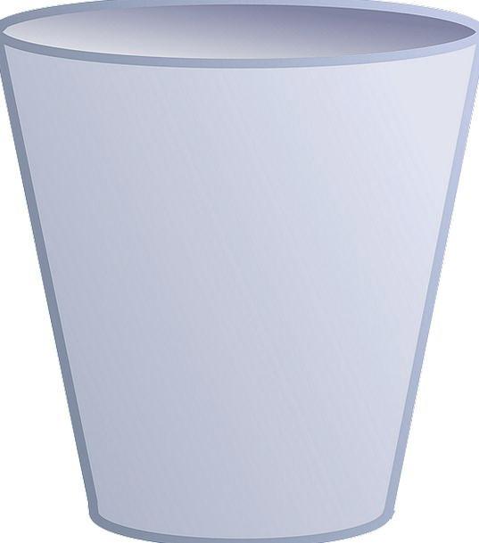 Trashcan Wastebasket Drink Basket Food Container A