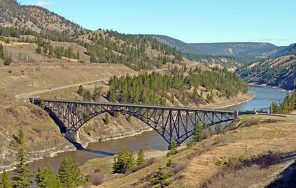 Steel Strengthen Landscapes Bond Nature Fraser Riv