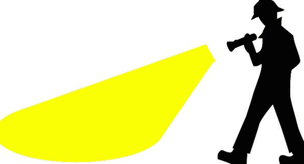 Man Gentleman Penlight Helmet Hat Flashlight Detec