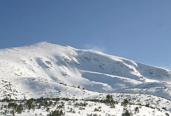 Mountain Crag Landscapes Knoll Nature Winter Seaso