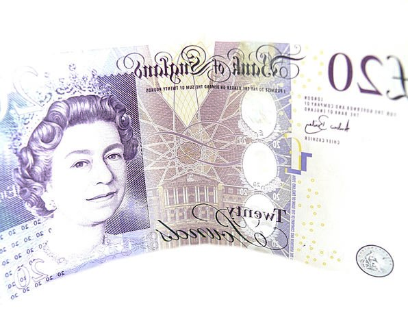 Pounds Quid Finance Business Queen Monarch Twenty
