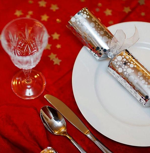 Celebration Festivity Cutlery Flatware Christmas H