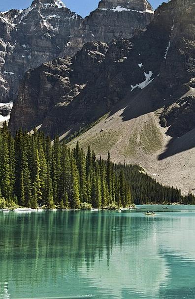 Banff National Park Landscapes Freshwater Nature R