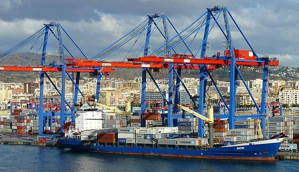 Container Port Buildings Harbor Architecture Coast