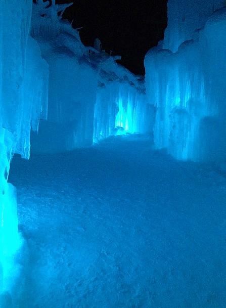 Ice Cave Cavern Ice Castle Cave Ice Frost Winterti