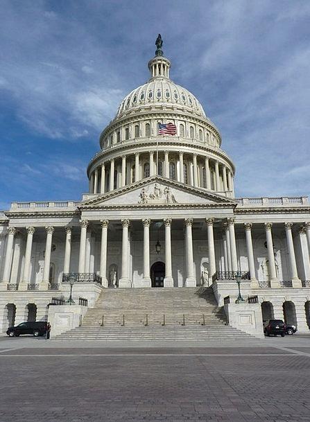 Capitol Buildings Architecture Usa Washington Unit