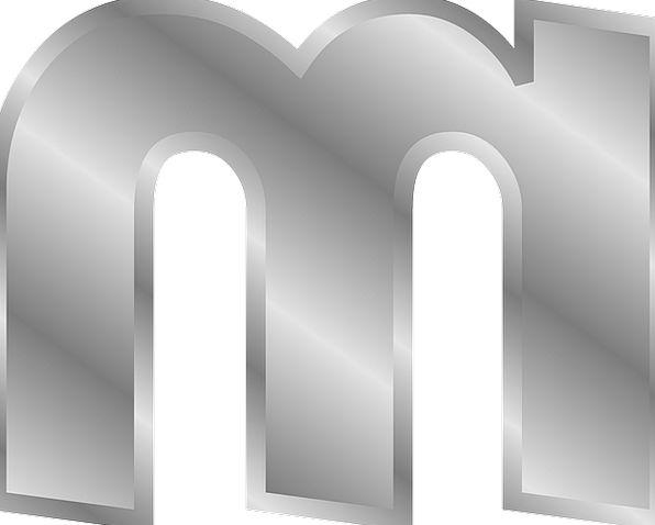 English Scripts M Alphabets Effect Letters Literat