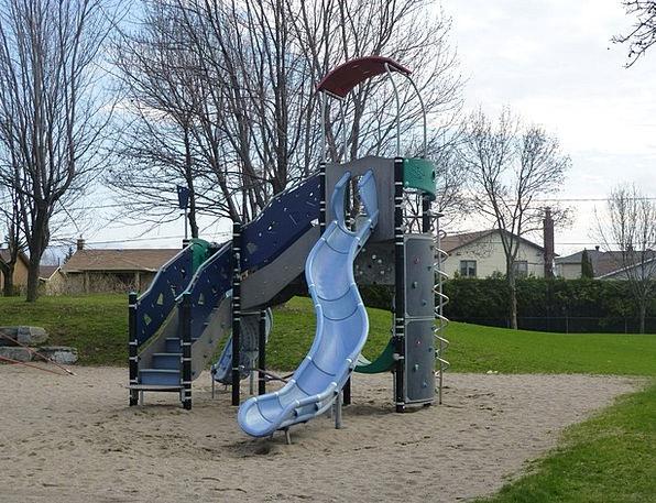 Playground Park Kids Children Playing Field Play P