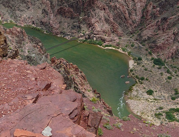 Grand Canyon Colorado River Colorado Away Water Aq