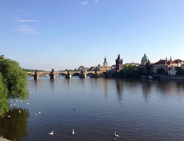 Prague Buildings Architecture Capital Wealth Czech