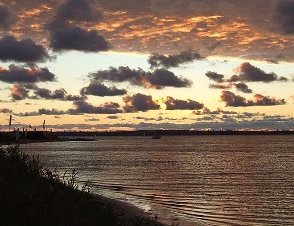 Sea Marine Vacation Aquatic Travel Clouds Vapors W