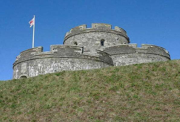 St Mawes Castle Fort Castle Below Fortification Pr