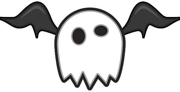 Bat Racket Huge Ghost Flicker Monster Comic Hallow