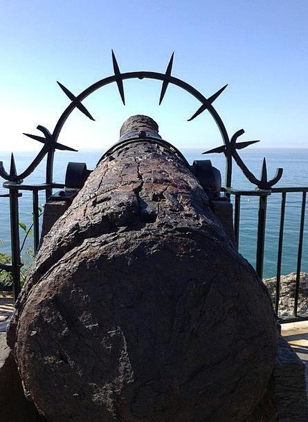 Cannon Monuments Places Vintage Out-of-date Old Ca