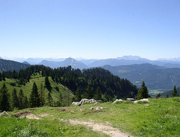 Kampenwand Mountainous Bavaria Alpine Aschau Chiem