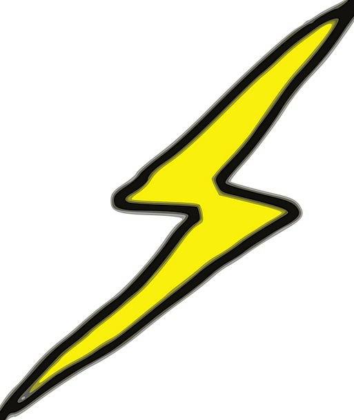 Lightening Easing Bar Thunderbolt Thunderclap Bolt