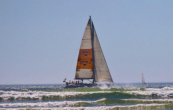 Sailing Boat Vacation Marine Travel Ocean Sea Sail