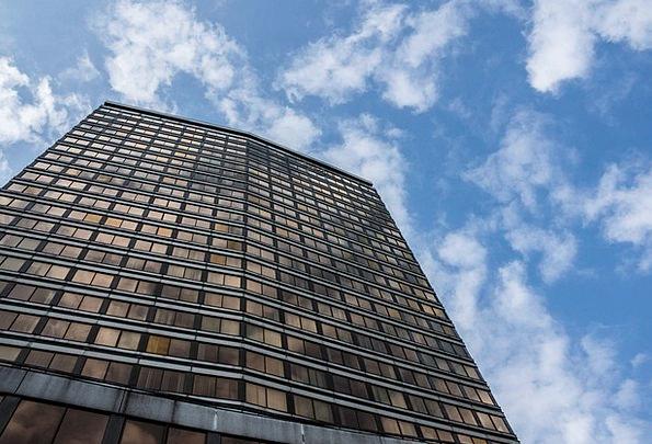 Skyscraper Tower Buildings Architecture Glass Cut-