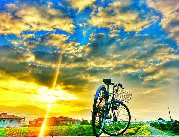 Bike Motorbike Landscapes Nature Landscape Scenery