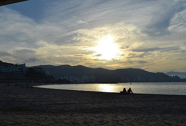 Beach Seashore Vacation Scenery Travel Sunset Sund