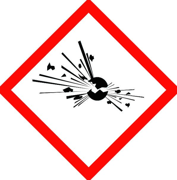 Explosive Short Tempered Bang Warning Cautionary Explosion