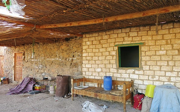 Nomadic Village Buildings Reward Architecture Clut